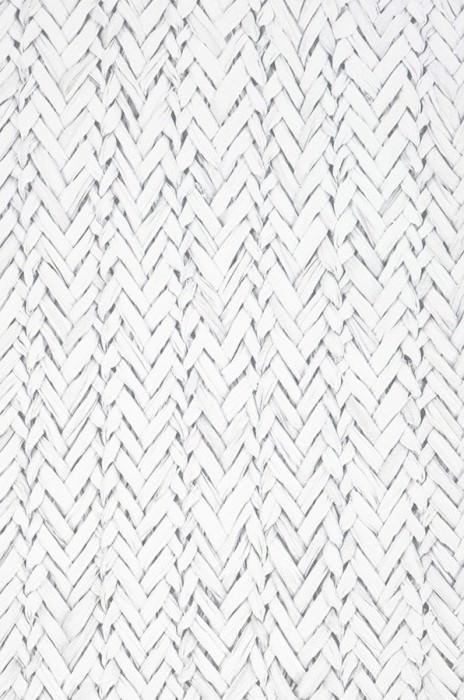 Wallpaper Rattan Effect Matt Woven Rattan Grey White