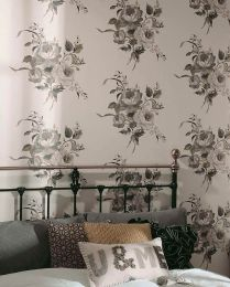 Papel pintado Olesia gris
