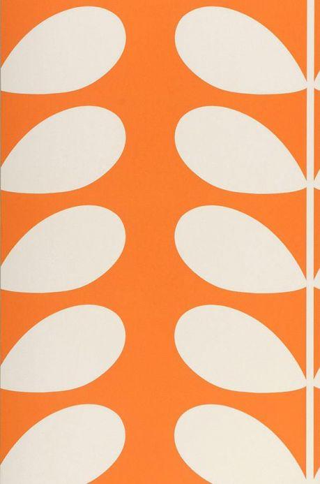 Archiv Wallpaper Diana orange Roll Width