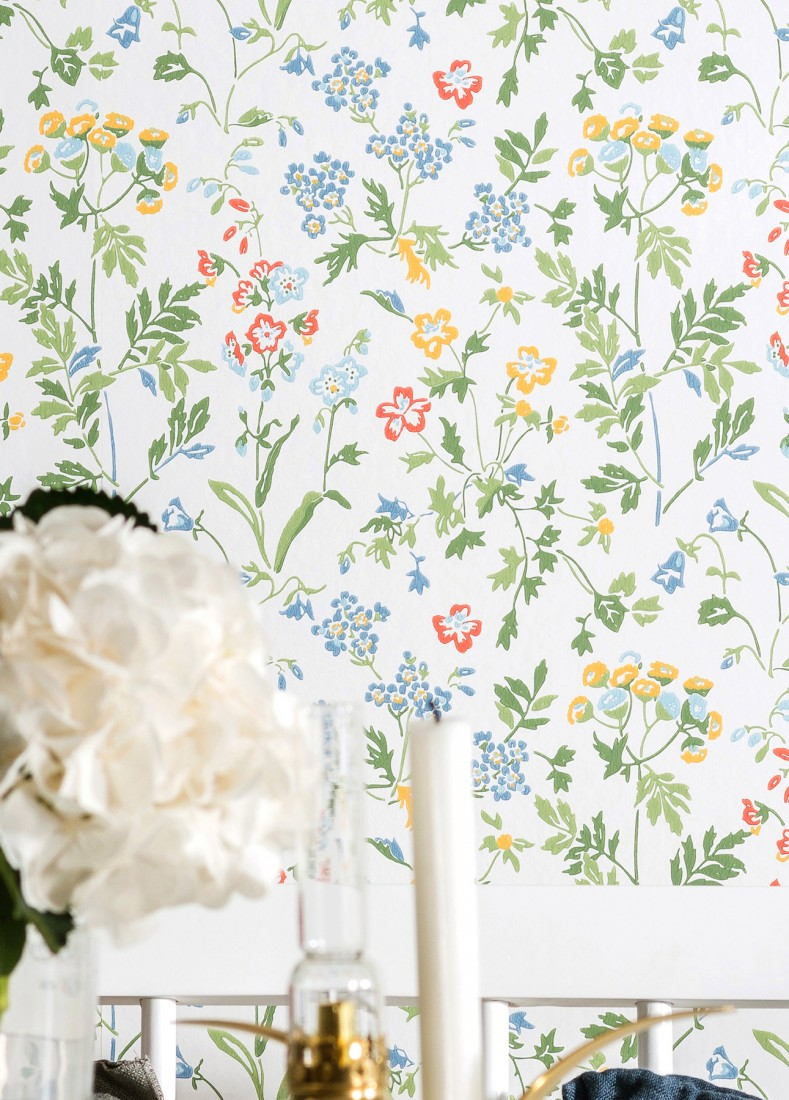 Wallpaper Lolla White Brilliant Blue Shades Of Green Coral Red