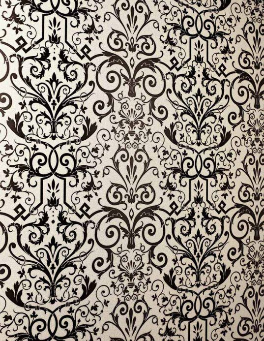 Archiv Wallpaper Varanasi anthracite Room View