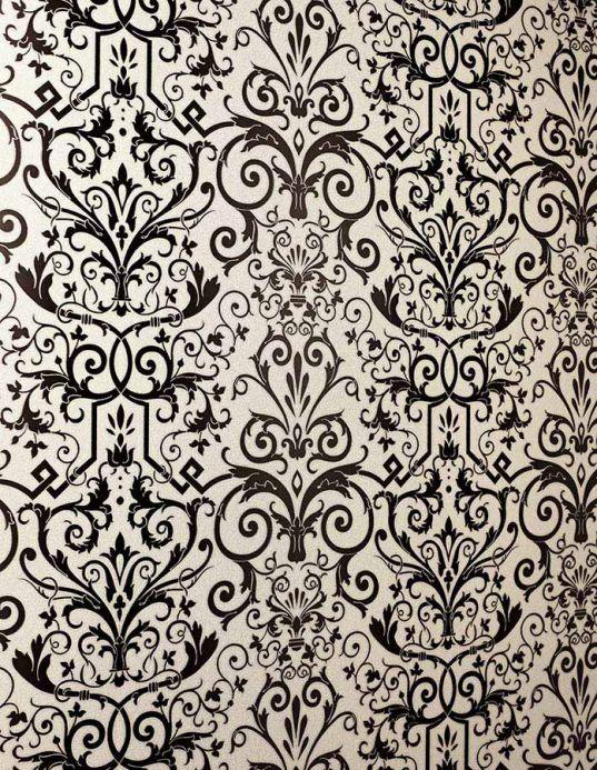 Archiv Papel pintado Varanasi antracita Ver habitación