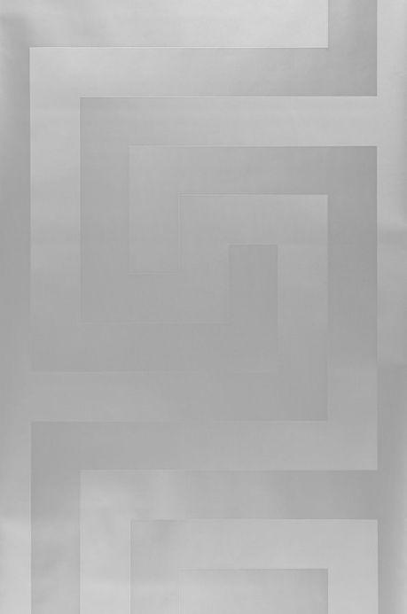 Papier peint Papier peint Solea argenté Largeur de lé