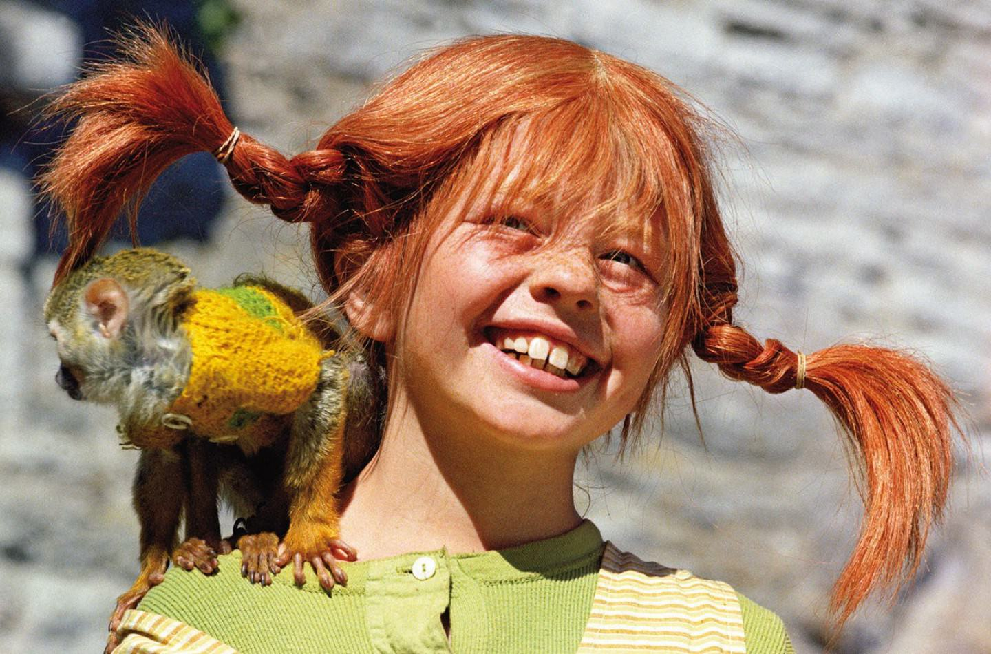 WallpaperStories: Pippi Longstocking