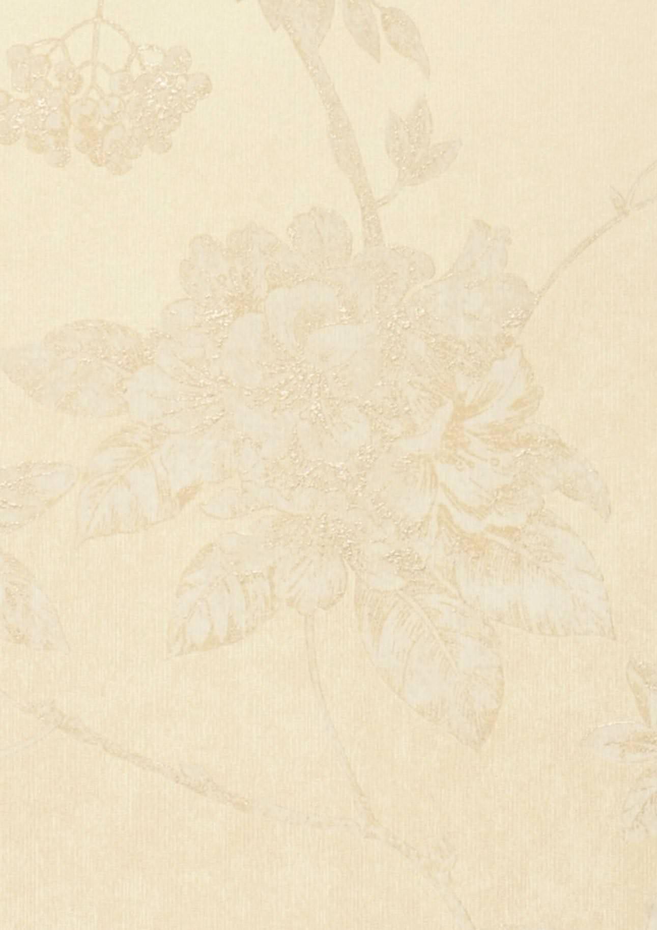 Papier Peint Tacita Ivoire Clair Blanc Cr Me Brillant