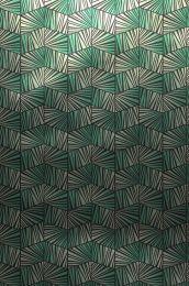 Tapete Gimog Smaragdgrün Glanz