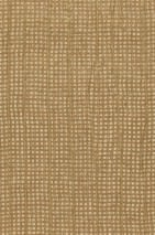 Wallpaper Crush Charm 01 Shimmering pattern Matt base surface Wrinkles Fabric Light ivory Bronze Gold