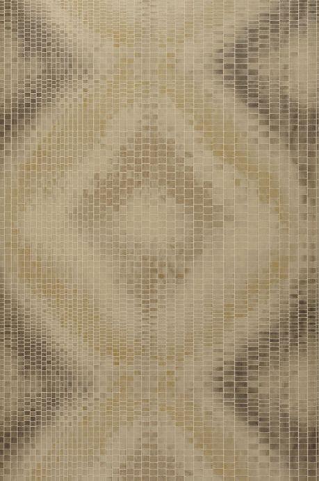Archiv Wallpaper Eniga olive grey Roll Width