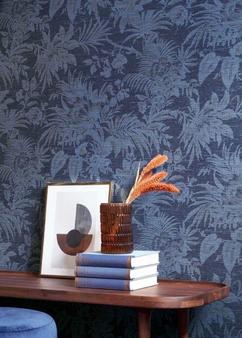 Papel de parede Papel de parede Moa azul pombo Ver ambiente