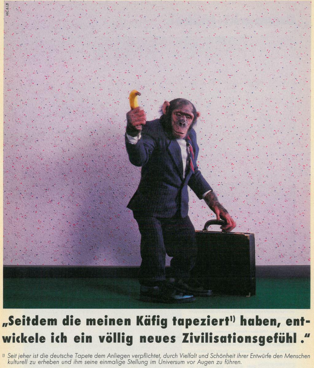 Tapetenwerbung-80er