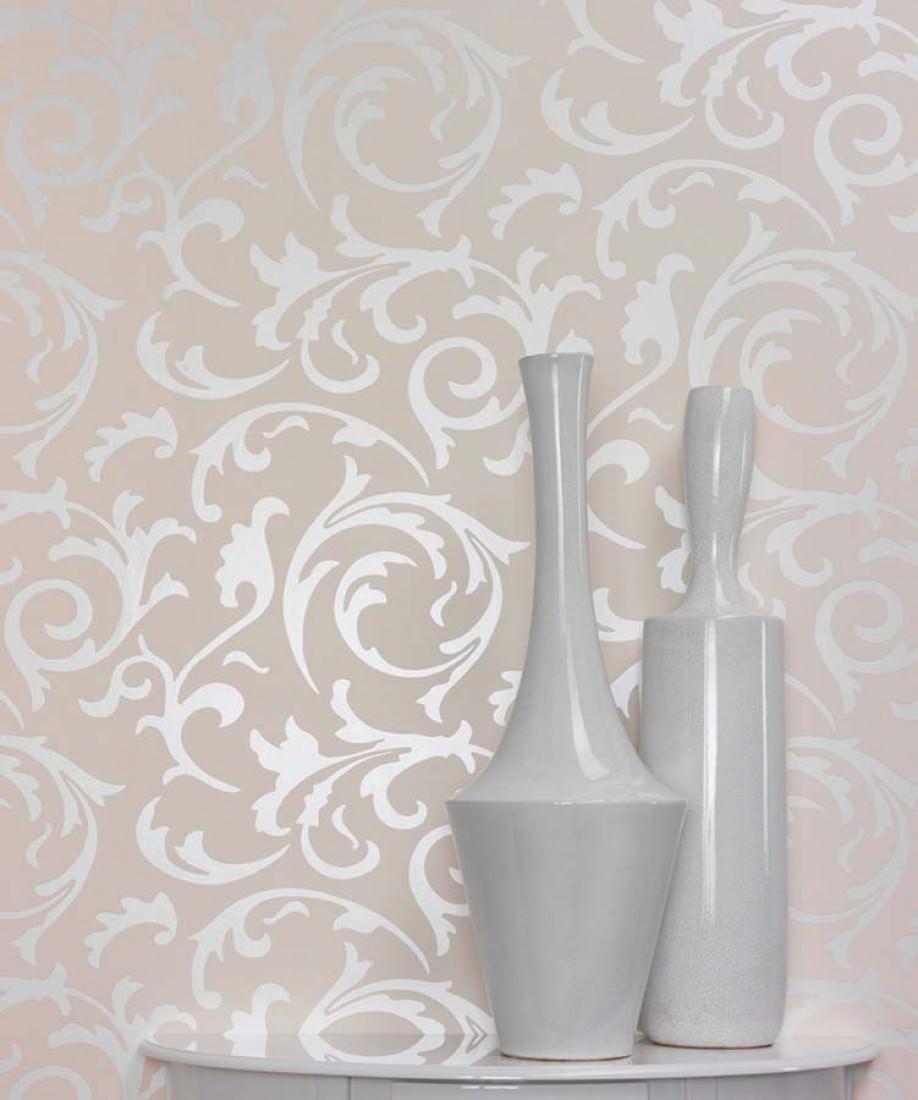 wallpaper medusa cream oyster white lustre wallpaper. Black Bedroom Furniture Sets. Home Design Ideas