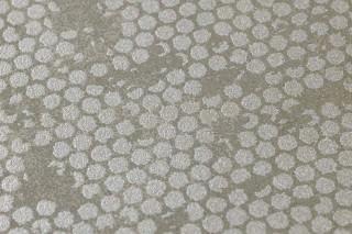 Papel pintado Ikebana Brillante Shabby chic Pátina vieja Gris musgo Plata