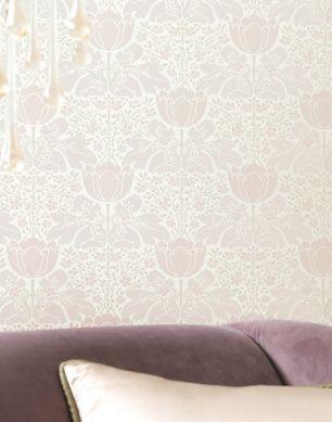 Papel de parede Marina branco creme Ver quarto