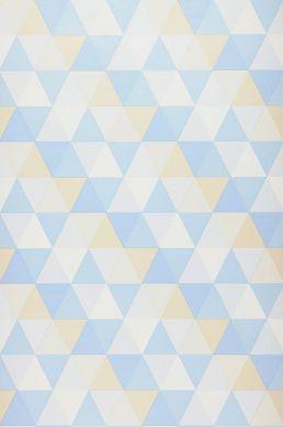 Wallpaper Tamesis pale blue Roll Width