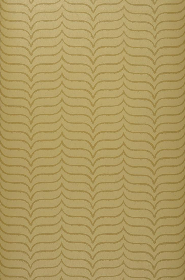 Papel pintado lovida beige verdoso marr n verdoso - Papeles pintados de los 70 ...