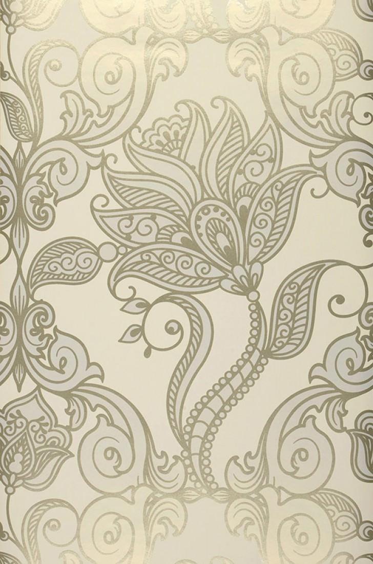 Lawal blanco crema oro perlescente blanco gris ceo - Los mejores papeles pintados ...