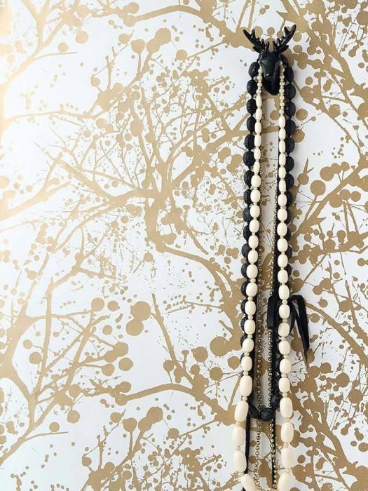 Wilderness blanco oro papel pintado rom ntico - Papeles de los 70 ...