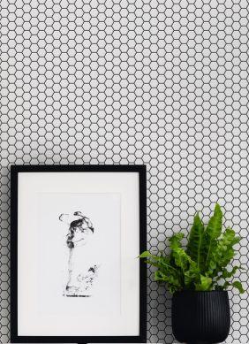 Wallpaper Bogo white Raumansicht