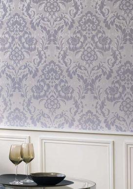 Papel de parede Anastasia cinza Raumansicht