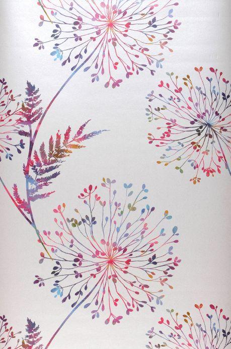 Floral Wallpaper Wallpaper Sophia white Roll Width