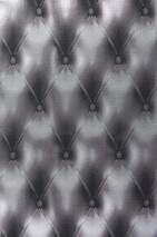 Wallpaper Baldur Shimmering Padded look Black grey Silver