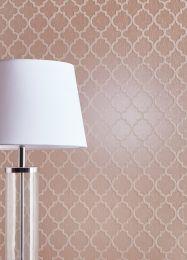 Wallpaper Ginevra pale rosewood