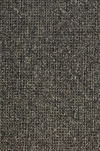 Papel pintado Noemi Efecto holograma Elementos gráficos Negro Plata brillantina