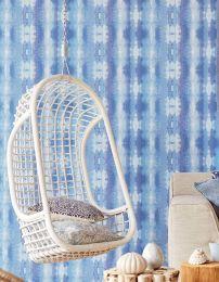 Wallpaper Alika shades of blue