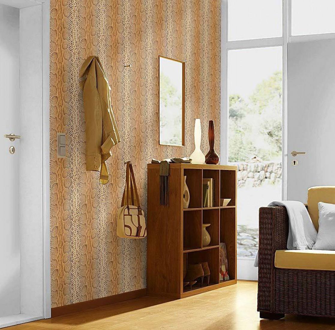 tapete anaconda beigebraun hellbraun hellelfenbein. Black Bedroom Furniture Sets. Home Design Ideas