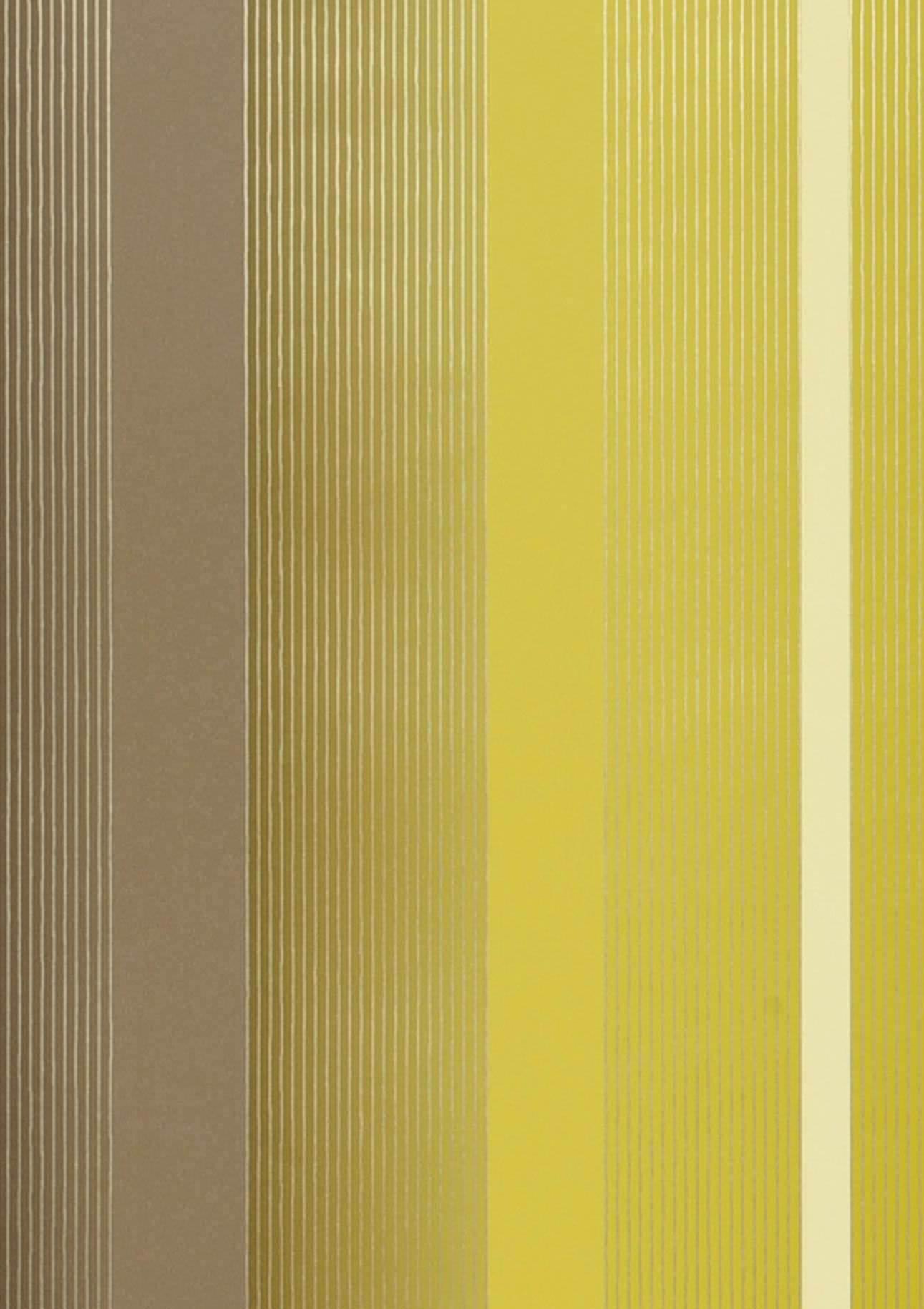tapete orthos gelbgr n blassbraun weissgold glanz tapeten der 70er. Black Bedroom Furniture Sets. Home Design Ideas