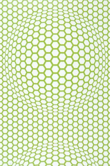 Archiv Wallpaper Hypnos light green lustre Roll Width