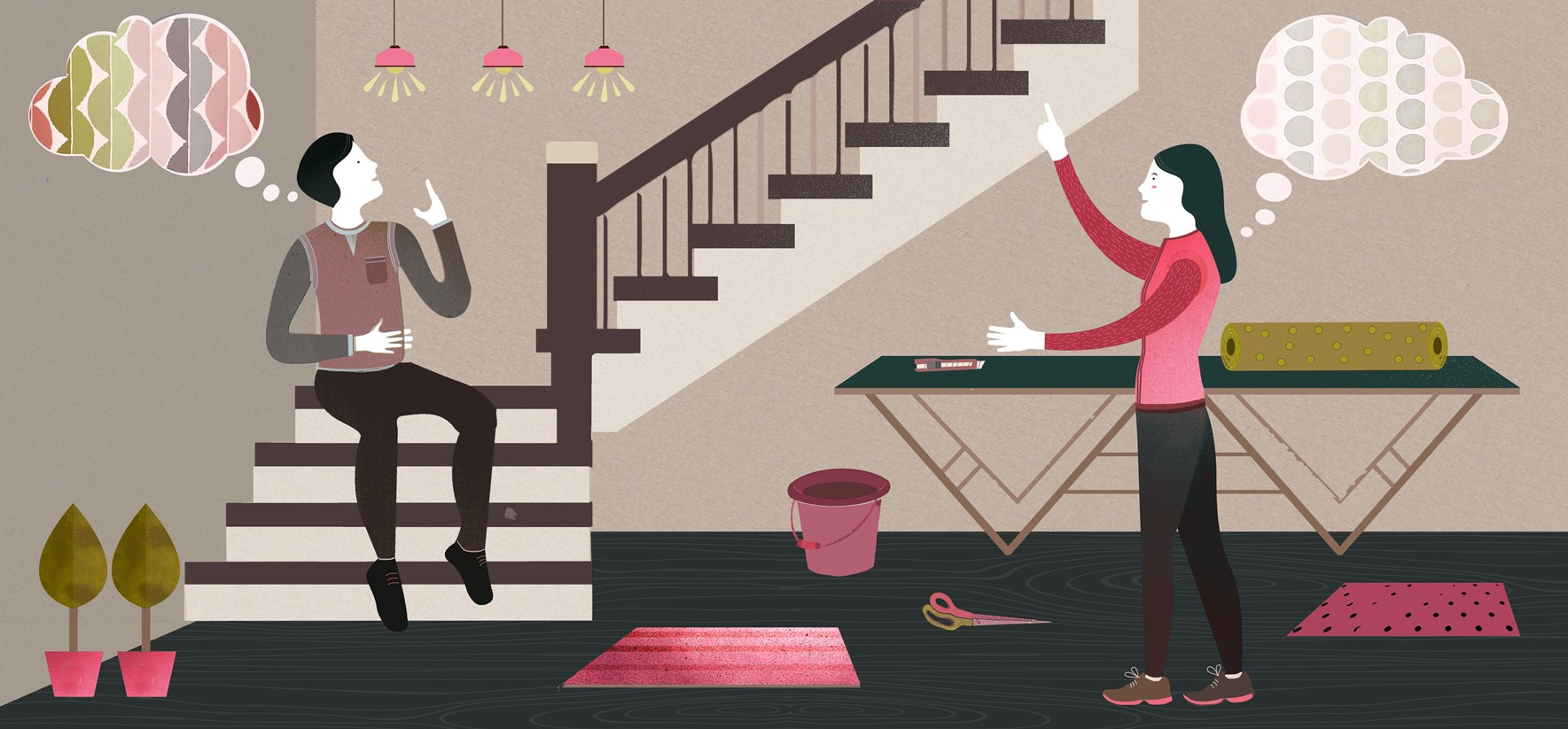 Staircase-wallpaper