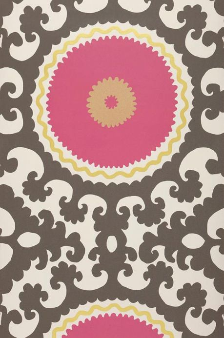 Archiv Wallpaper Aton heather violet Roll Width