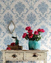 Wallpaper Emmeline pastel blue