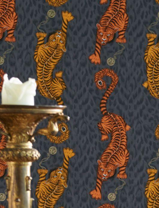 Wallpaper Wallpaper Tigris maize yellow Room View