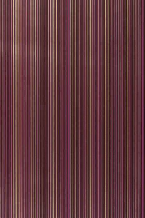 Wallpaper Hector Shimmering Stripes Heather violet Gold Black Violet
