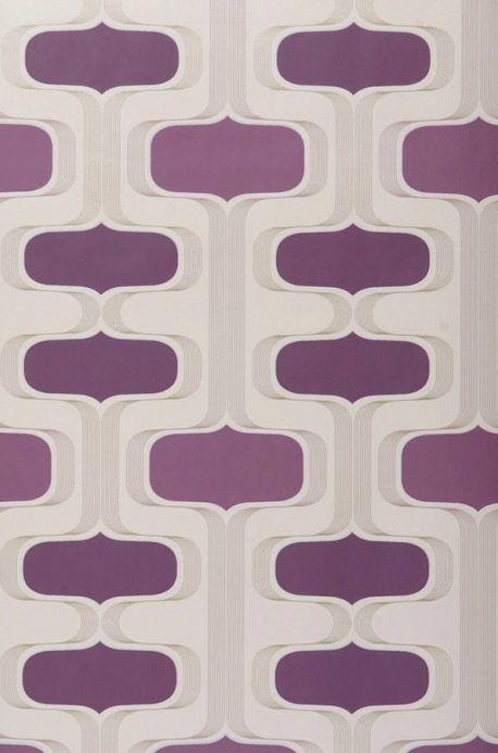 Archiv Wallpaper Sankus violet Roll Width
