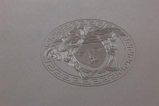 Papel de parede Maxima Brilhante Ornamentos Medusa Cinza brilhante Cinza quartz cintilante