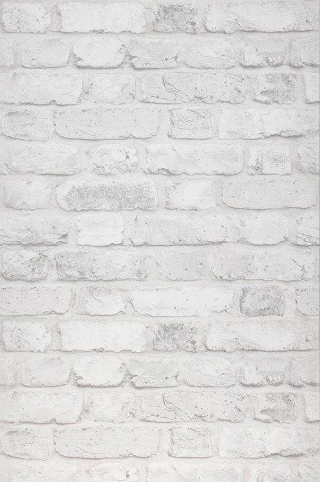 Wallpaper Castor Matt Bricks Cream Light grey
