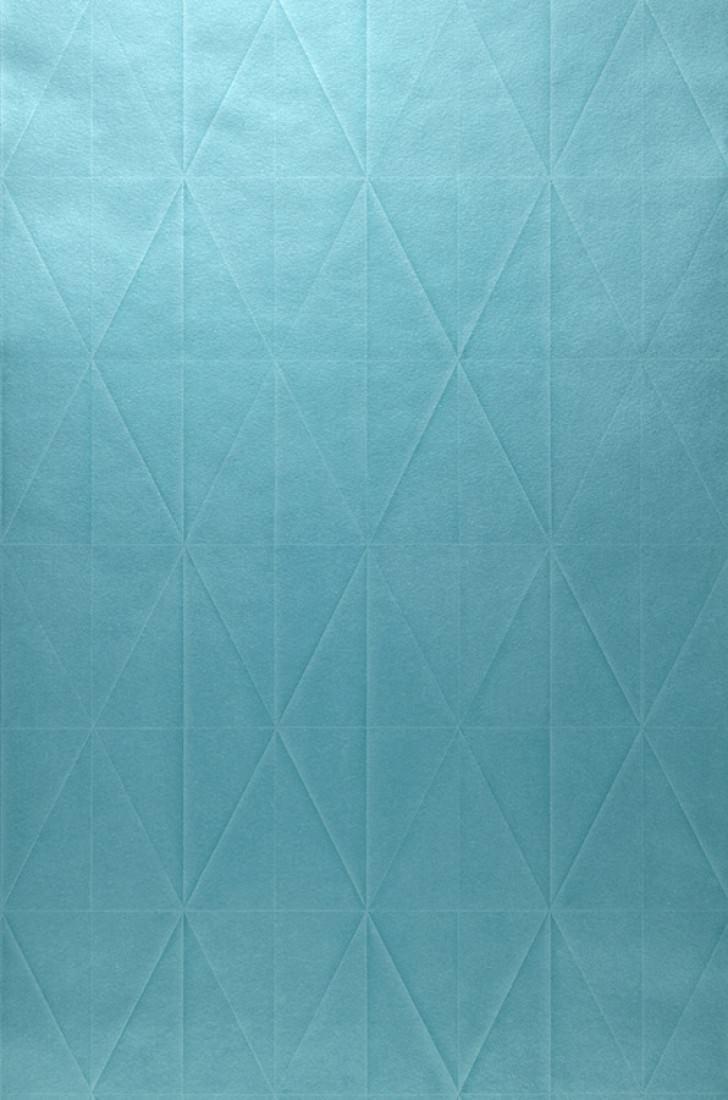 Papier Peint Origami Bleu Turquoise Papier Peint Des Annees 70