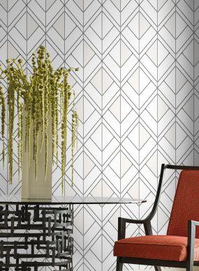 Wallpaper Stromboli white Raumansicht