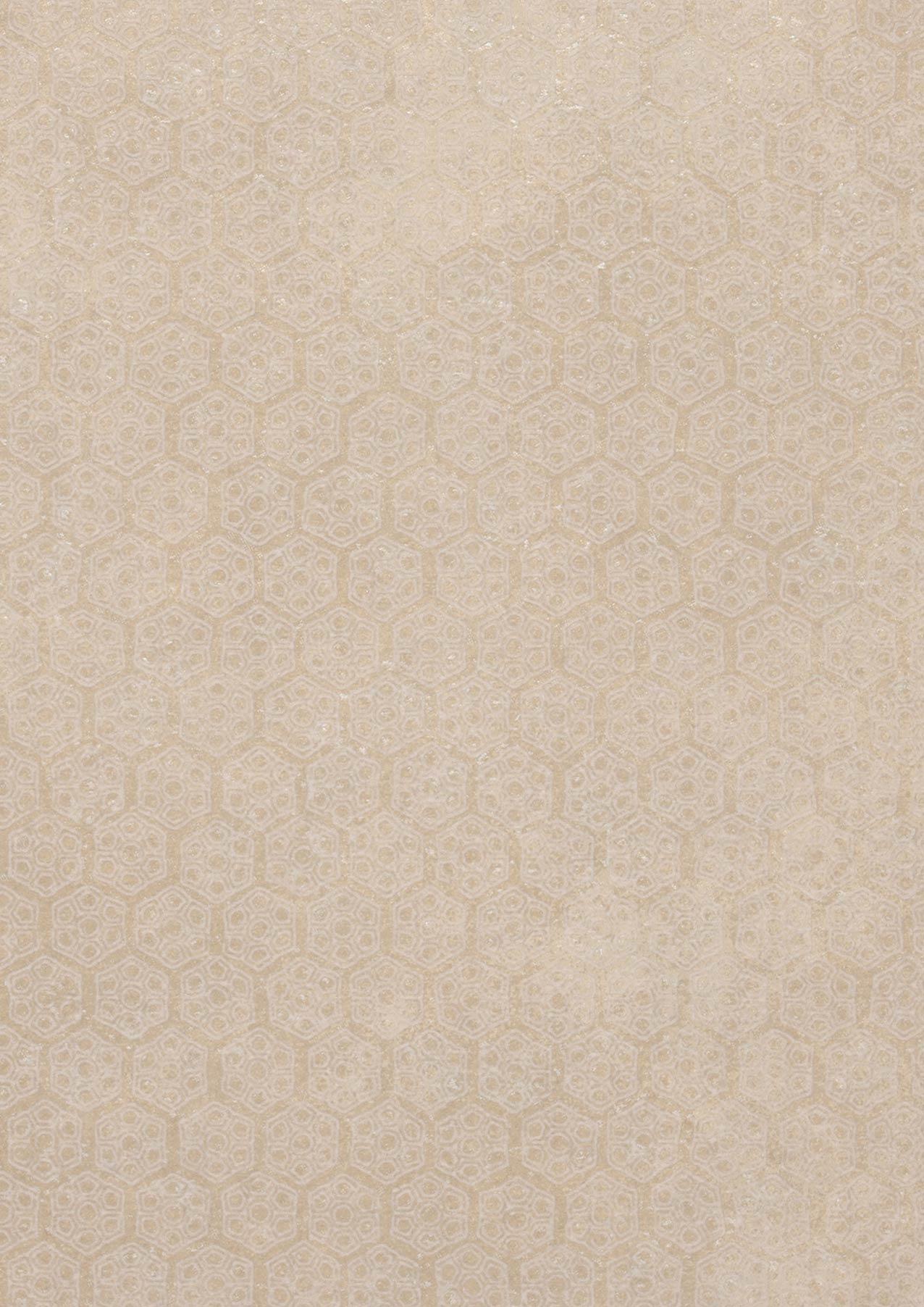 Papier Peint Imana Beige Blanc Cr Me Papier Peint Des