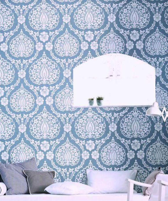 Archiv Papel pintado Fidelia blanco Ver habitación