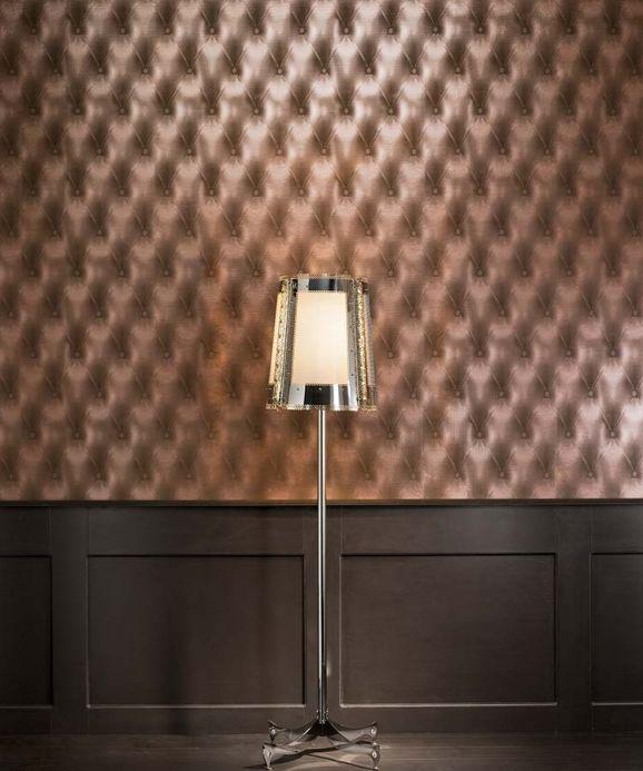 Archiv Wallpaper Baldur bronze Room View