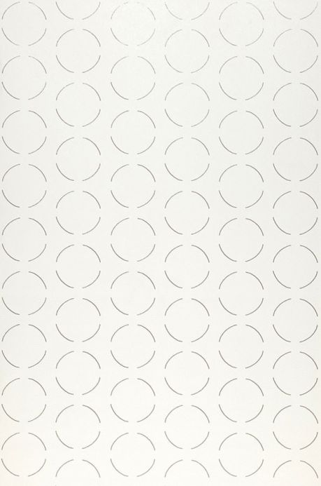 Archiv Wallpaper Circles by Porsche silver Roll Width