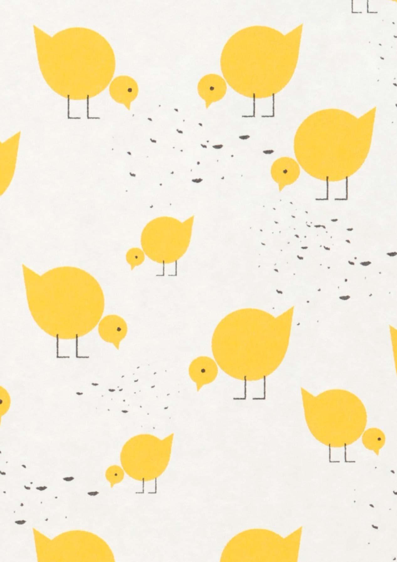 Tapete pitta cremeweiss gelb schwarz tapeten der 70er for Tapete nach hause