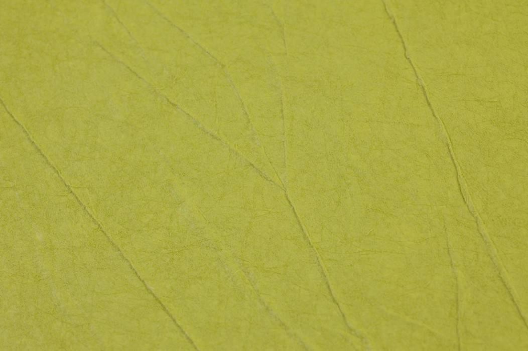 Wallpaper Crush Elegance 05 Matt Wrinkles Yellow green