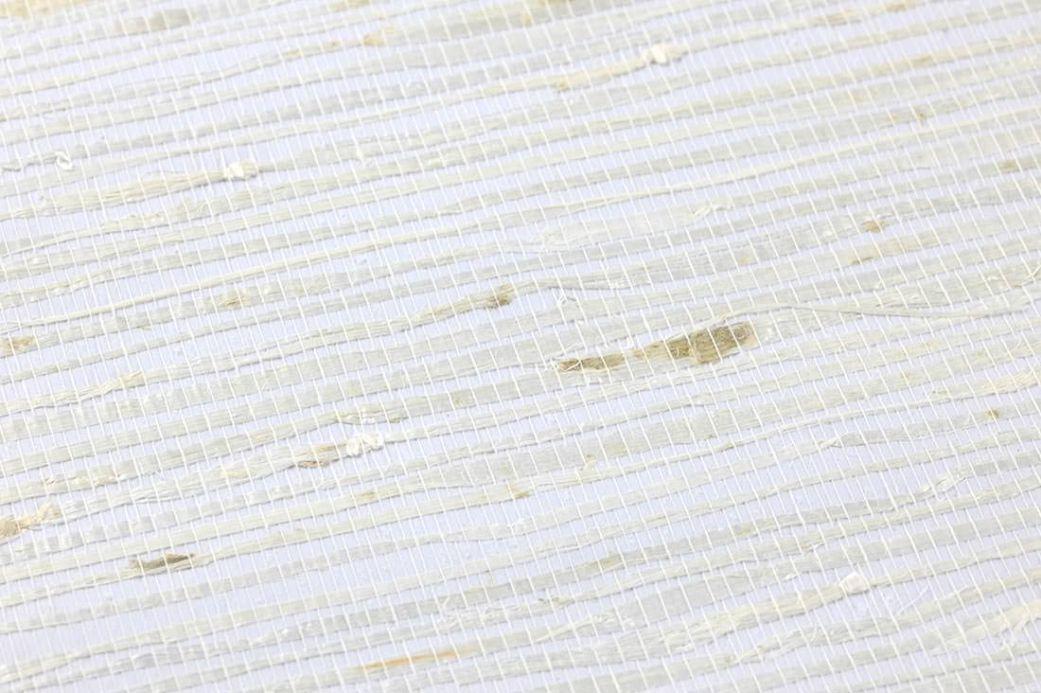 Archiv Wallpaper Grasscloth 03 white Detail View