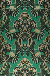 Papel de parede Demetrius verde