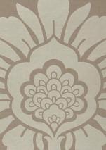 Papier Peint Hermes Gris Beige Or Blanc Papier Peint Des Annees 70